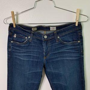 Ag Adriano Goldschmied Jeans - AG AdrianoGoldschmeid Stilt Roll Up Cigarette Jean